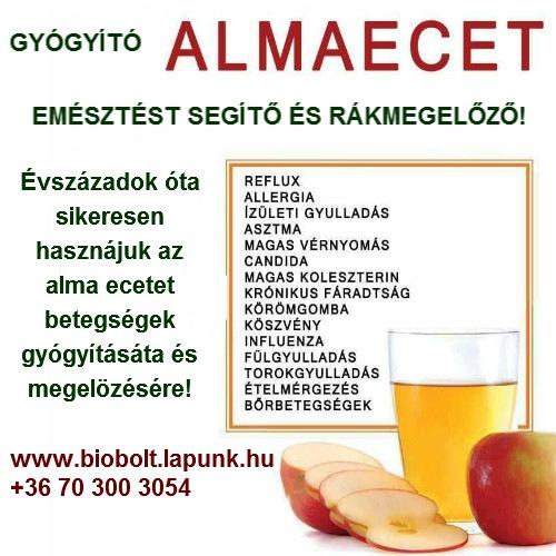 az alma jó-e a magas vérnyomás ellen
