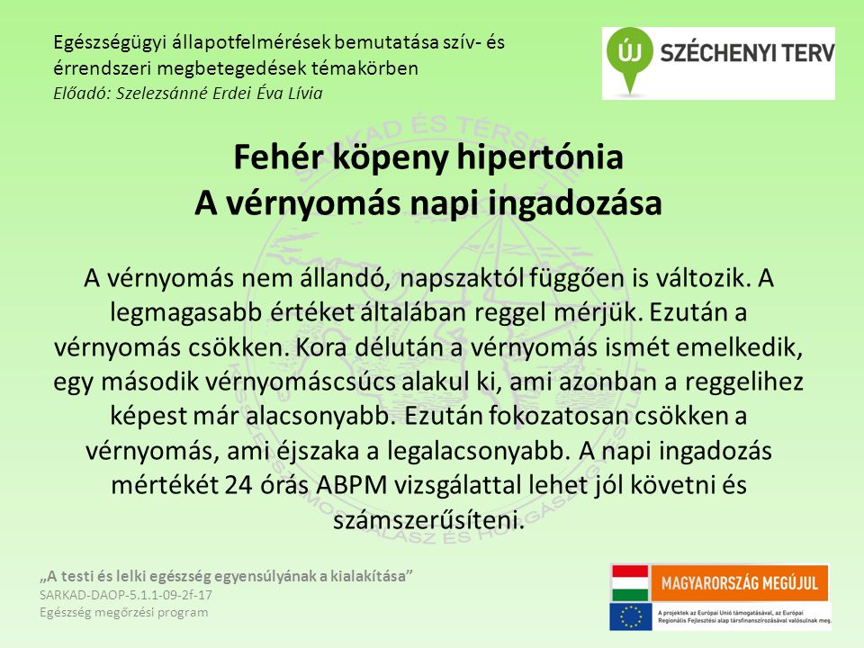 hipertónia kialakítása