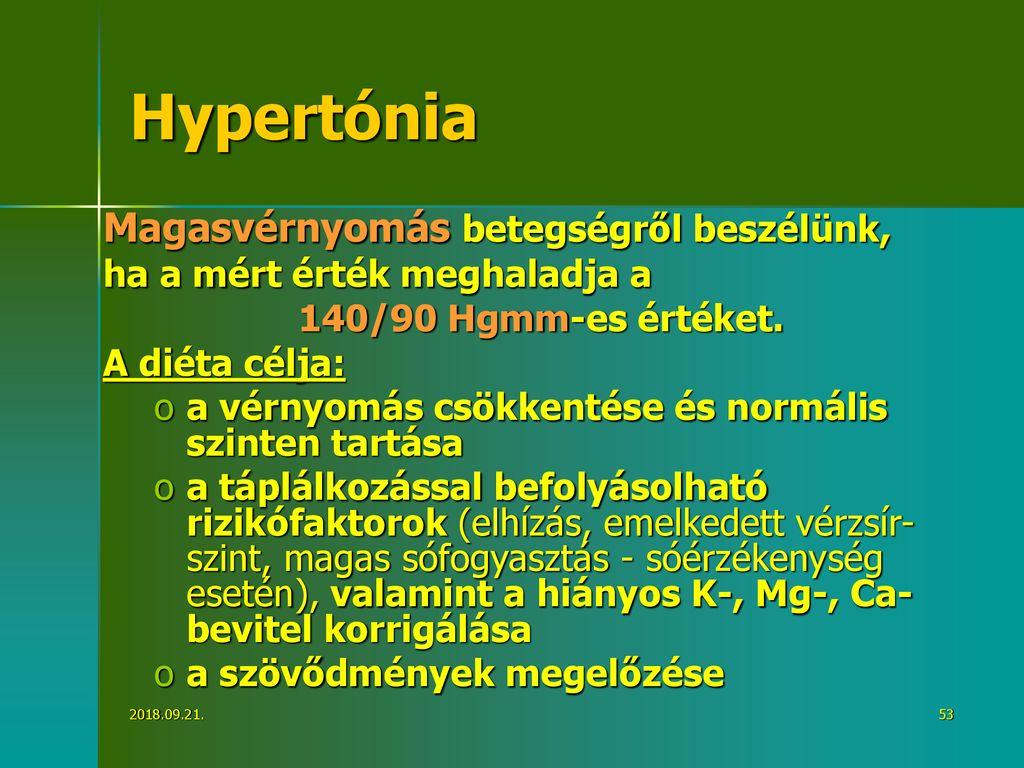 hipotenzió és magas vérnyomás tünetei diéta terápia magas vérnyomás esetén