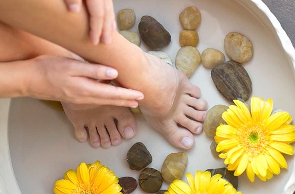 Méregtelenítő sós vizes lábfürdő - Egészségtér