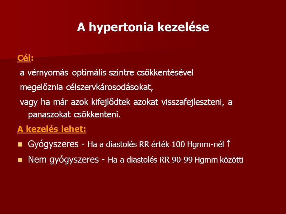 1 fokos vagy 1 szakaszos magas vérnyomás