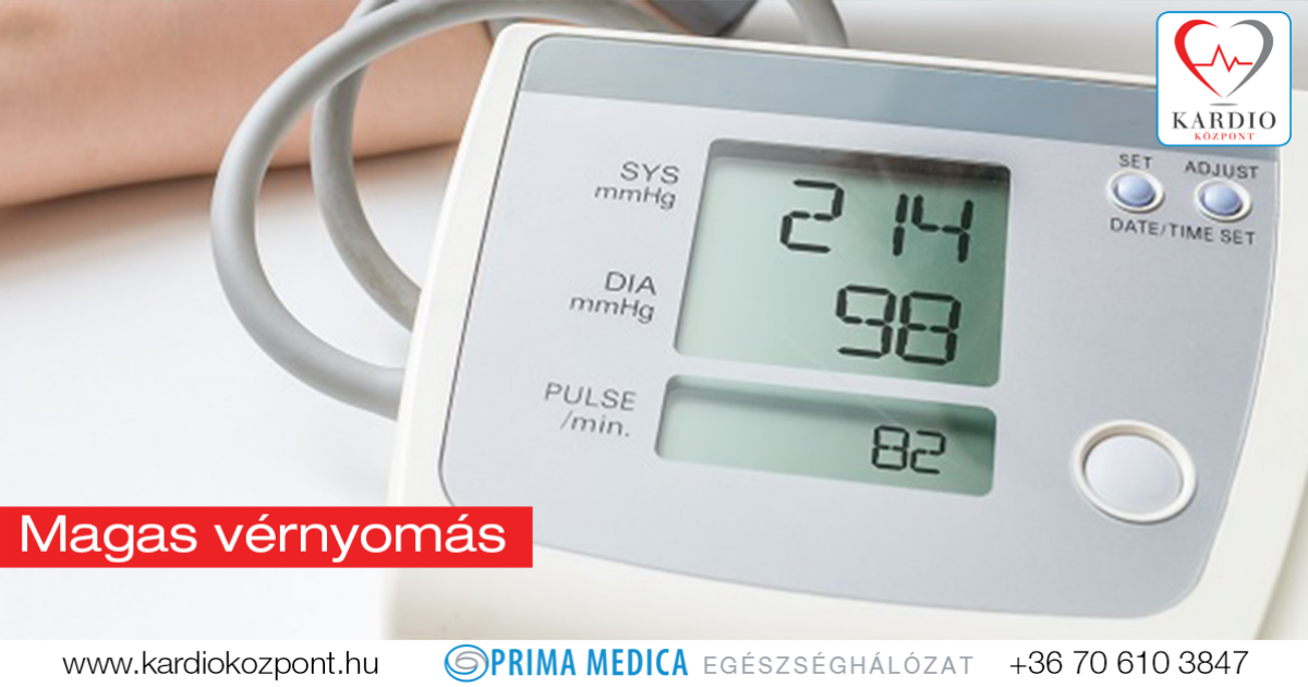 enyhe magas vérnyomás