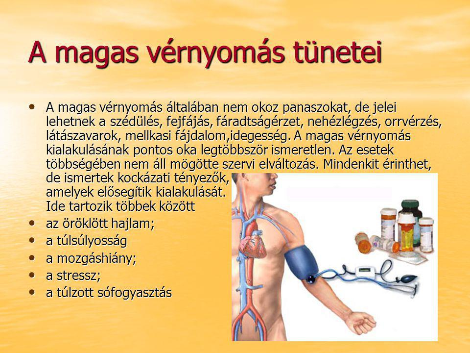 magas vérnyomás mi eztünetek