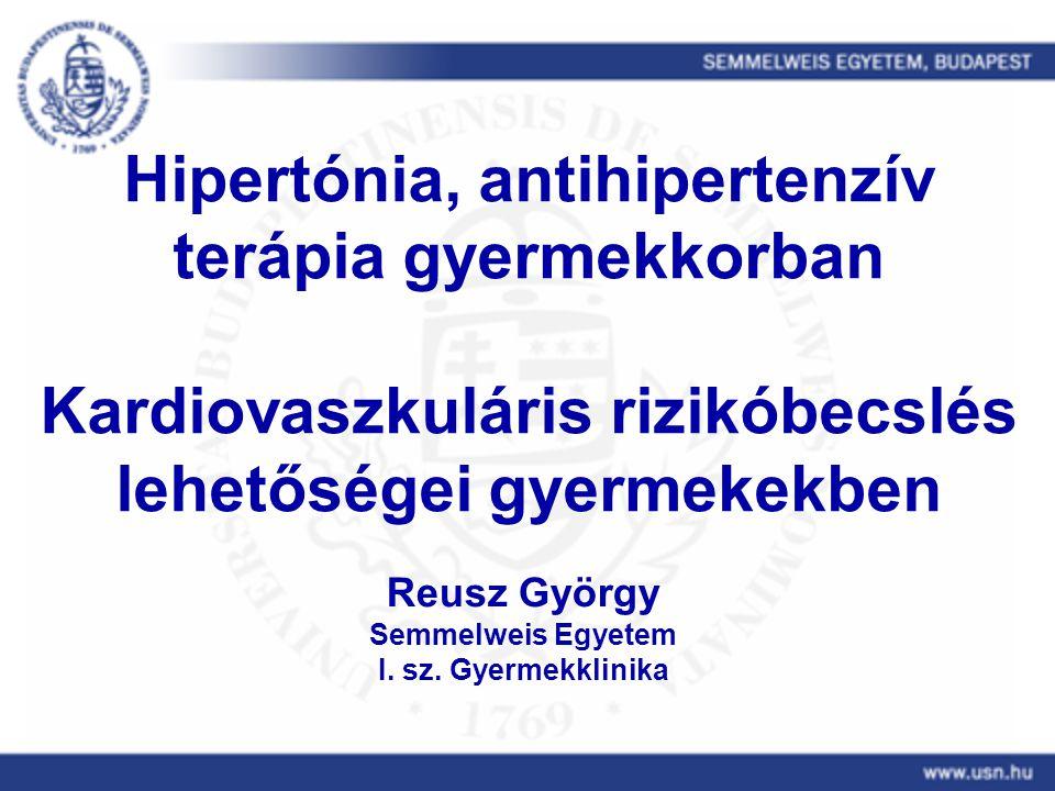 a krónikus hipertónia terápiás módszerei magas vérnyomás és a stroke kezelése