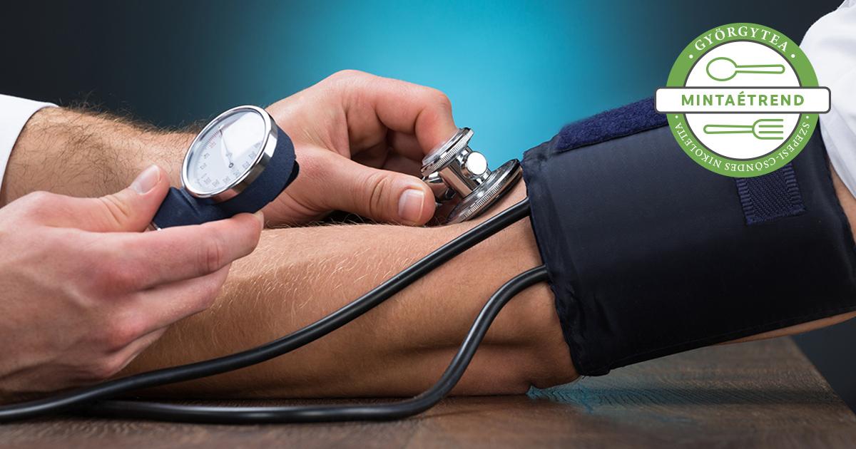 diéta magas vérnyomásért menü egy hétre receptek menü egy hónapig magas vérnyomás esetén