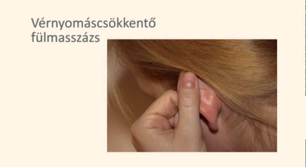 magas vérnyomás akupresszúra hipertóniás típusú arc