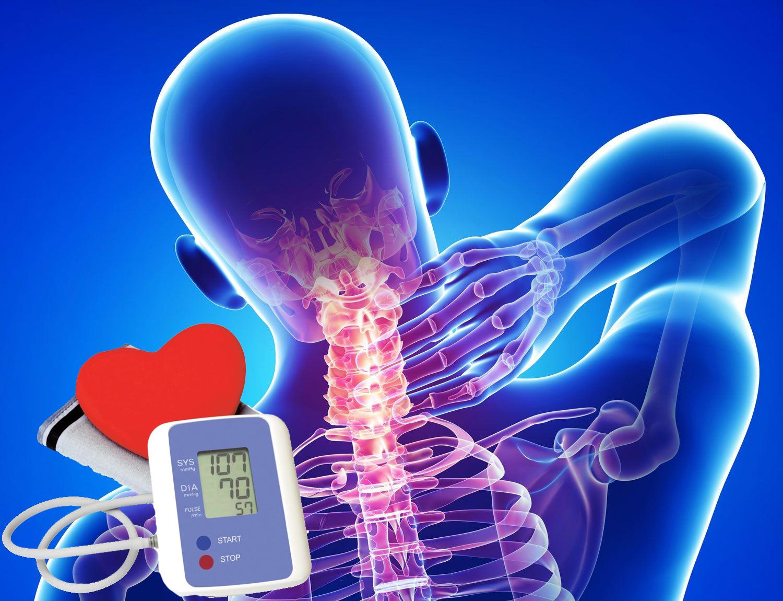osteochondrosis magas vérnyomás