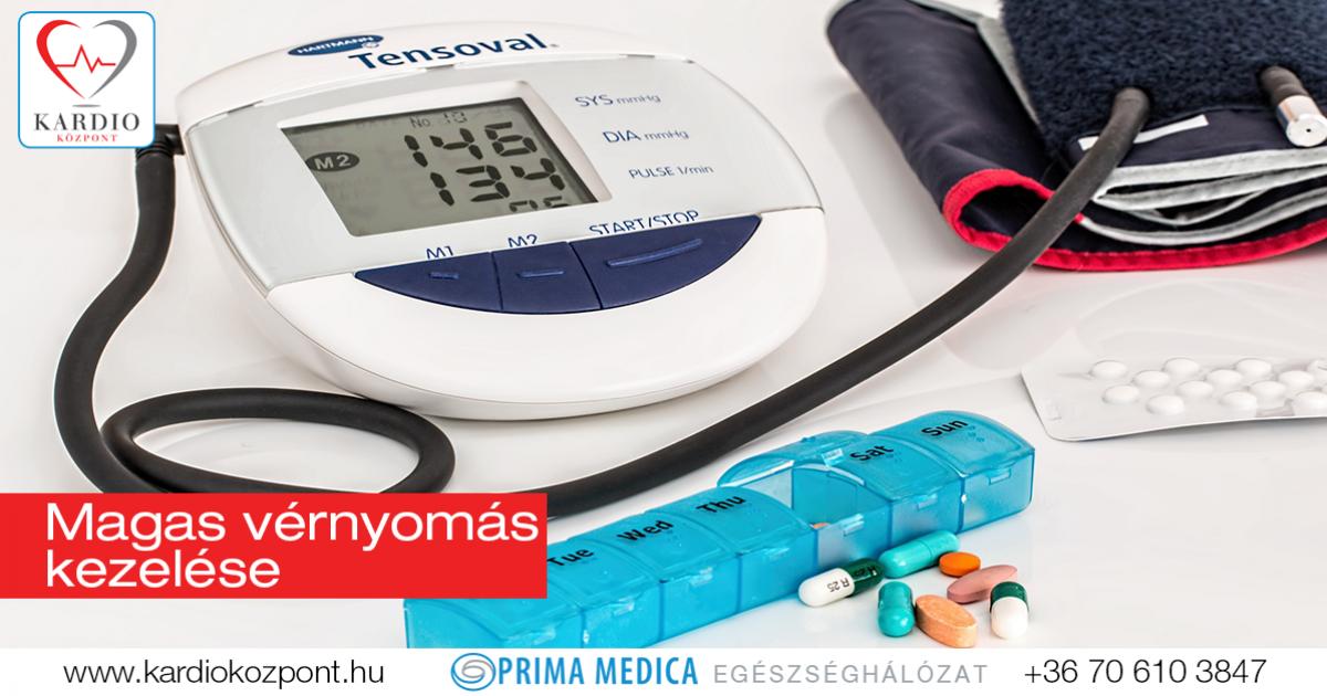 vényköteles gyógyszerek magas vérnyomás